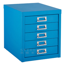 5 Drawer Metal File Cabinet Small Tabletop/Desktop Storage With Factory Price