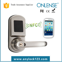 door handle lock smart home card system nfc phone lock china factory