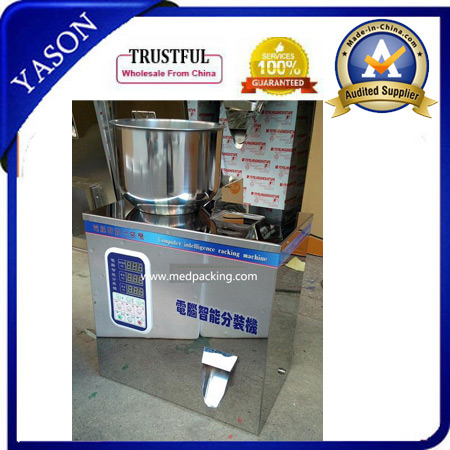 Multi-function points installed automatic quantitative packaging machine installed granular powder food medicine packing 1-50 <strong>g</strong>
