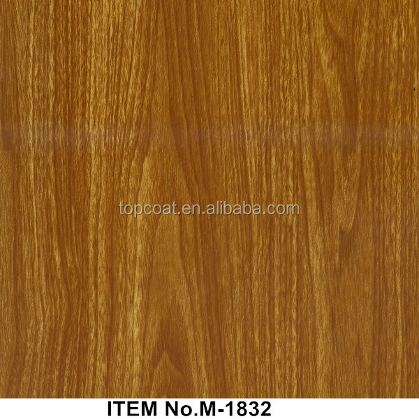 Clear toasted rosewood grain water transfer printing film for furniture decorating