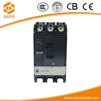 NSX 400A of 3 Poles number air type electrical voltage circuit breaker with switch