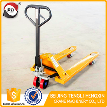 China 2.5 ton lift hand truck pallet jack