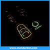 Crazy hot selling Glowing leather key cover For Cadillac SRX/XTS/CTS/ATS-L/SLS