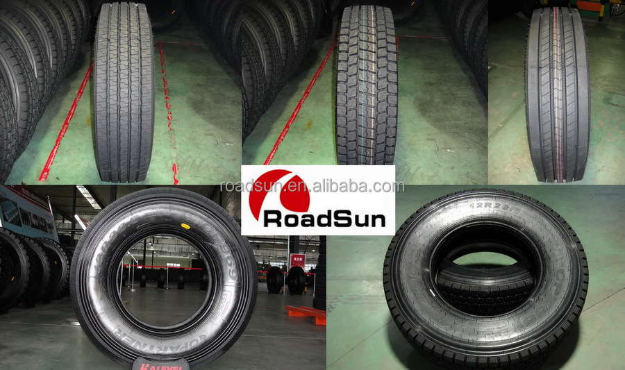 ALL STEEL RADIAL TRUCK TYRE 12r22.5 TRAILER TIRE