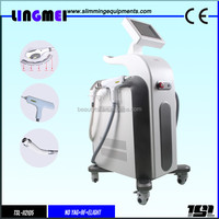 Latest Technology 3000W High power ipl depilator, Stationary shr ipl permanent hair removal and skin rejuvenation laser machine