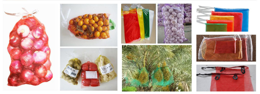 Plastic Mesh Bag For Potato or other vegetable