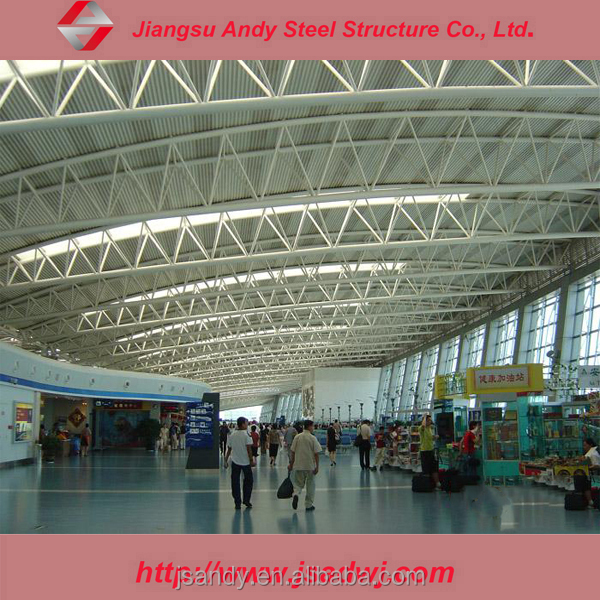 Prefabricated steel structure types of steel trusses
