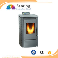 6 KW mini cast iron wood pellet stove