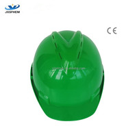 HDPE safety helmet with CE EN397 certificate,safety helmet with air vents--industrial safety products