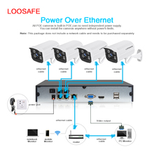 High Quality Factory price surveillance system home security poe 4ch h.264 nvr kits outdoor ip camera poe