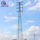 400kV power transmission line steel tower