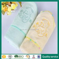 Antiallergic and antistatic 100% organic bamboo baby towel