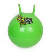 "45cm / 18"" Space Hopper Jump Bounce Retro Ball Adult Kid Outdoor Toy Garden New"
