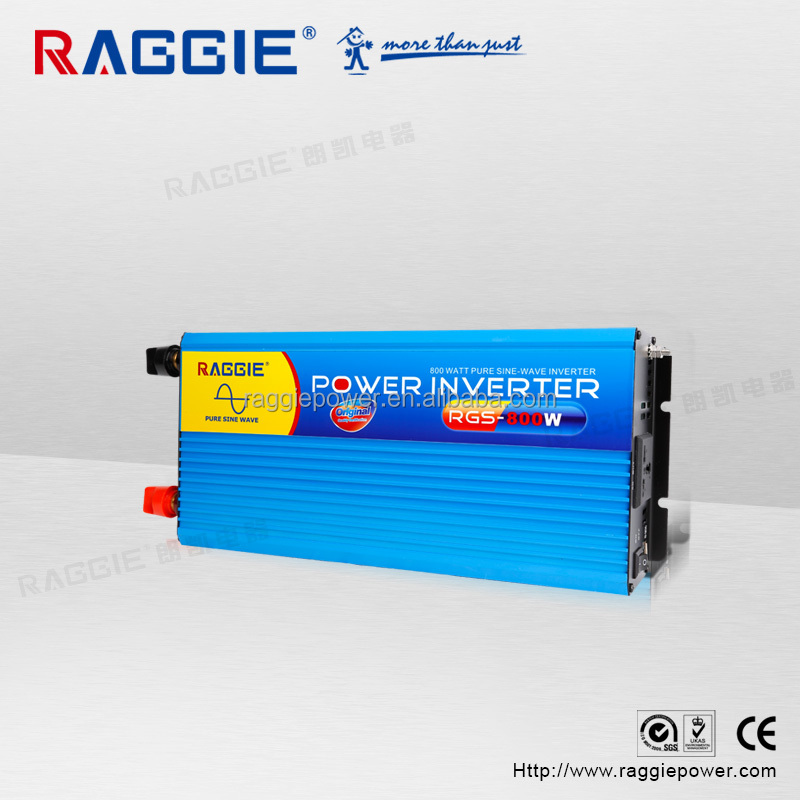 [RAGGIE] 12v 220 dc ac pure sine wave inverter 800W for air conditioner