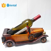 Old Car Wooden Wine bottle Holder,Wooden Model Made In China Free Sample