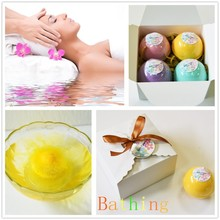 Free sample aromatic fizzy bath bombs set wholesale with natural ingredients