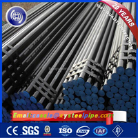 24 Inch ASTM A106 Grade B Hot Rolled Black Steel Seamless SCH 80 Carbon Steel Pipe Price Per Ton