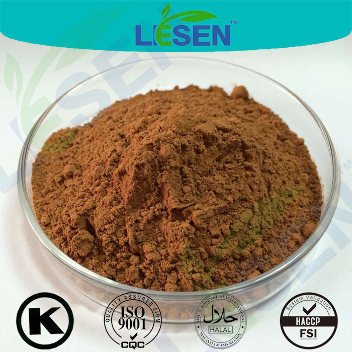 ISO Company Free Sample USP Standard Wild Black Cohosh Extract Triterpene Glycosides