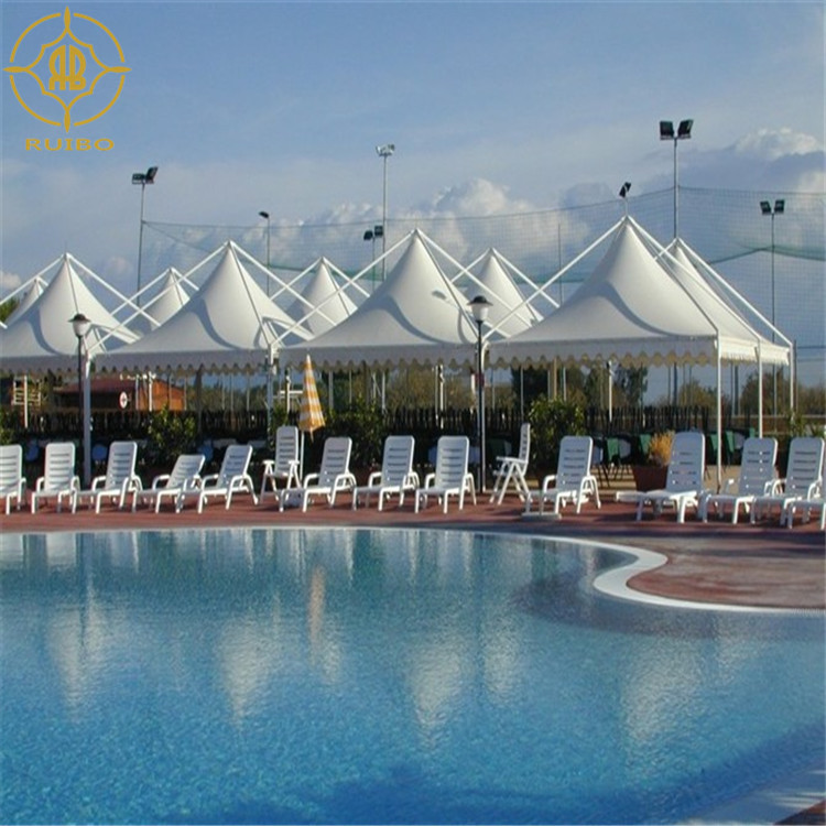 2018 tensile membrane structure canopy for swimming pool