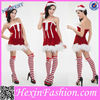 Hexin Wholesale Fashion Tube Shiny Christmas Party Costume