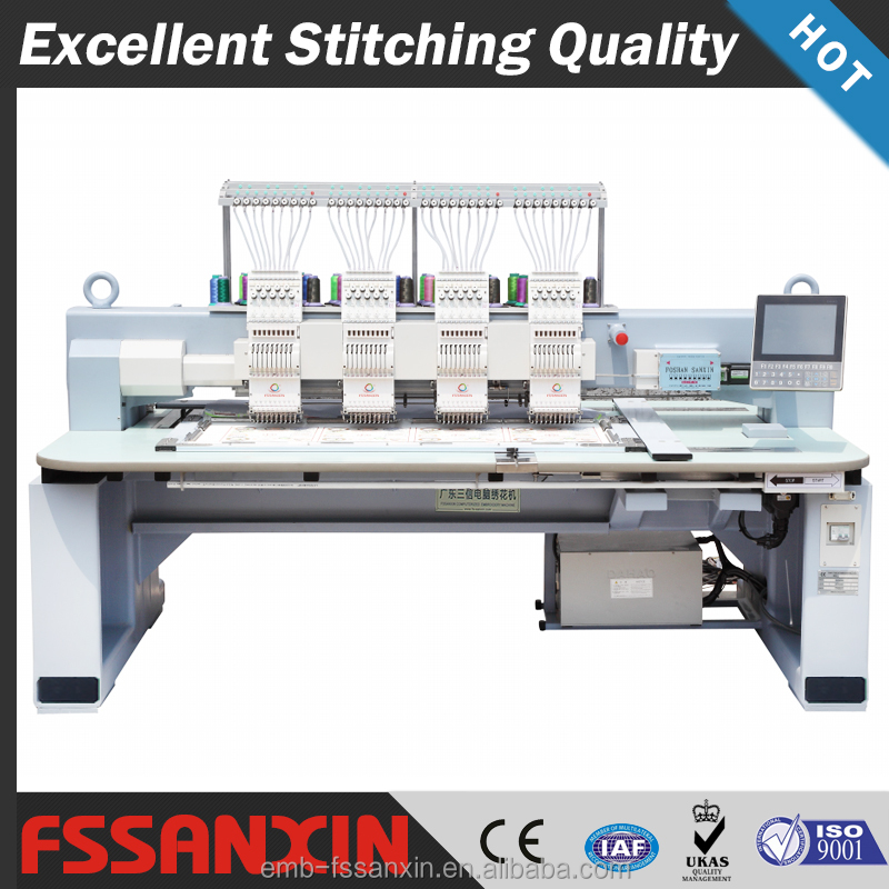 Commercial embroidery machine for sale with Japanese embroidery machine needles