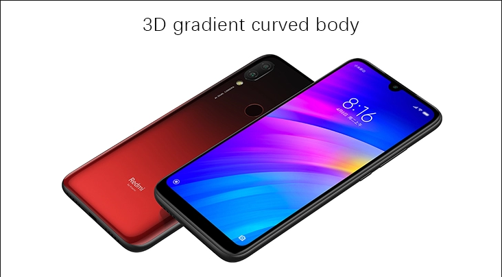 Global EU Version Xiaomi Redmi 7 3GB 64GB Mobile Phone Octa Core Snapdragon 632 Phone 6.26 inch Full screen 4000mAh Redmi7