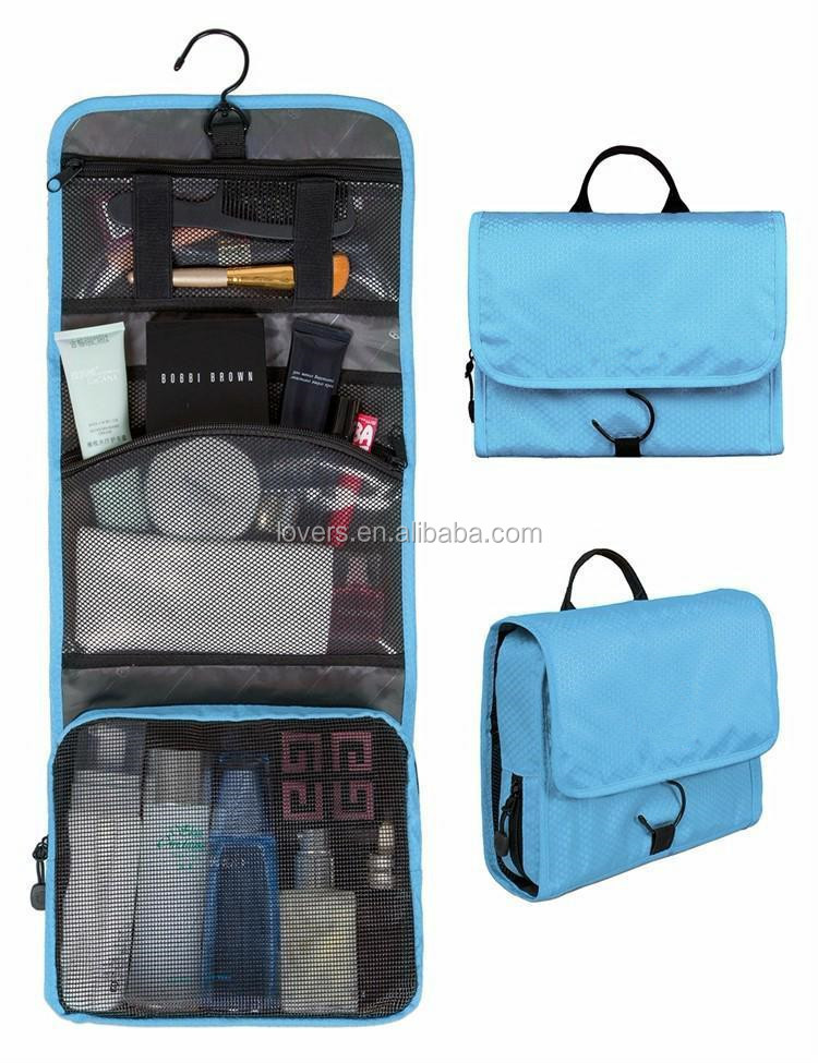New Foldable Hanging Cosmetic Bag Organizer Toiletry Storage Bag