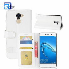Alli Baba Com PU Leather Magnet Stand Wallet Credit Card Holder Flip Case Cover For Huawei Enjoy 7 Plus / Y7 Prime
