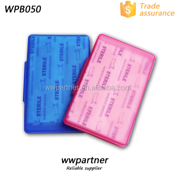 Custom Plastic Band Aid Box, Plastic Custom Band-aid Box
