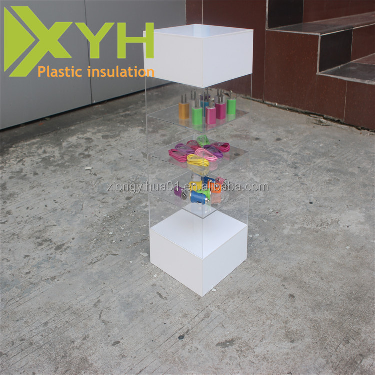 Wholesale China Factory Promotion Clear Plastic Makeup Organizer Nail Polish Rack Display Cases for Cosmetic