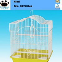 Top sale make wooden wrought iron bird cages for decoration