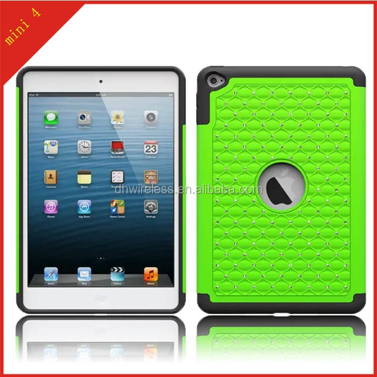case for Apple iPad mini 4 diamond triple defender heavy duty protector cover