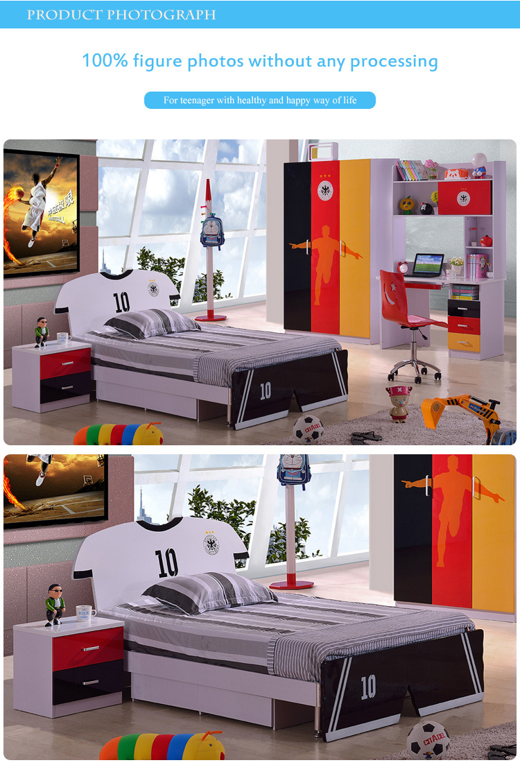 8370# unique shape design used for bed boy/double bed
