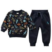 Cheap kids boys winter outfit fashion children's clothing from china