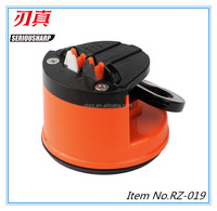 Knife and Scissors Sharpener with Suction Pad