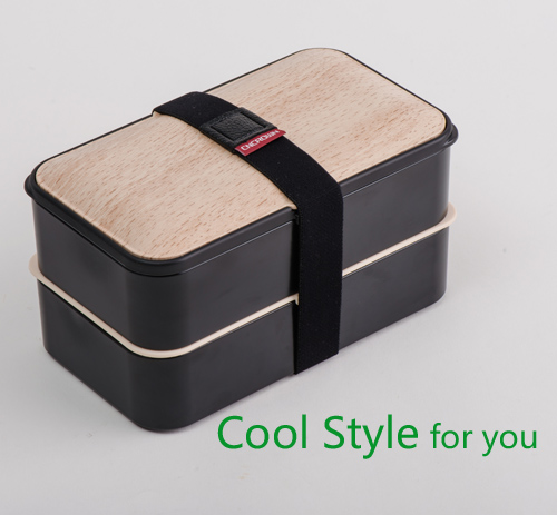 Lunch Bento Box & Storage Use with belt and Utensil, one or two layer 600/1200ml, microwave & dishwasher safe