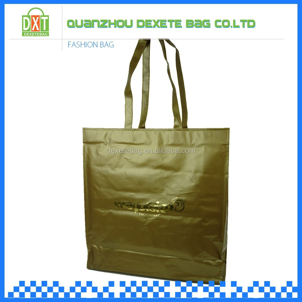 Clothing store ordered pvc material t shirt shopping bag