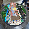 Custom residential miniature model ,residential Park one Building scale model