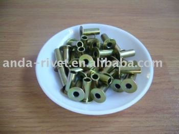 Brass Tubular Rivets/Tubular Connectors/Hollow Rivets