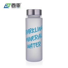Wholesale manufacturer 500 ml customized metal cap drinks plastic stainless water bottle