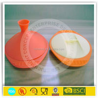 Food grade silicone mess container
