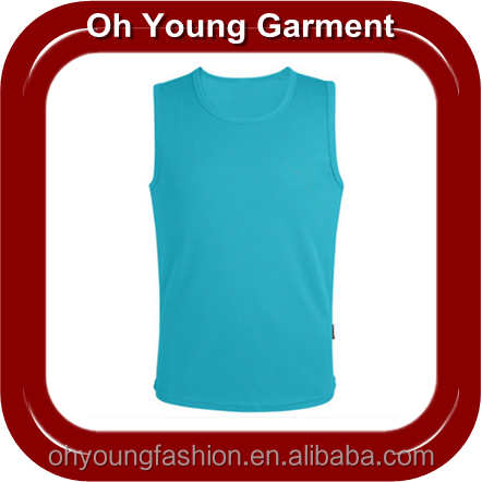 o neck man's blank tank top in Jiang Xi