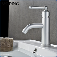 MODING High Demand Hot And Cold Deck Mounted Wash Water Basin Taps Faucet