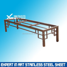 304 PVD color stainless steel frame and legs for furniture