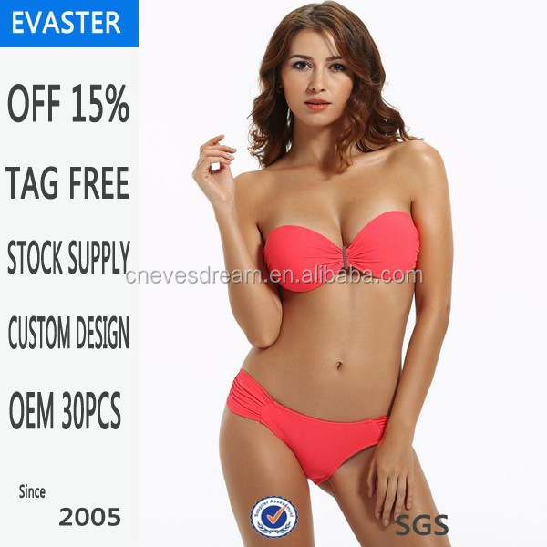 9 years professional factory women sexy bikini