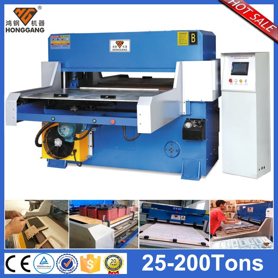 China supplier automatic die cutting machine and creasing machine