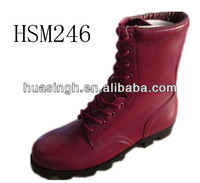 LX,Altama fashion style knee high red military boots for women soldiers