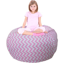 Premium seat bean bag stuffed animal toy storage
