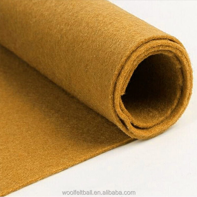 1mm 2mm 3mm 4mm 5rmm wholesale china wool felt manufacturer