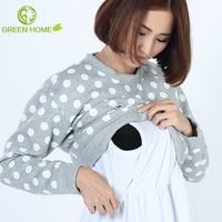 fashion design cotton nighties for pregnant women